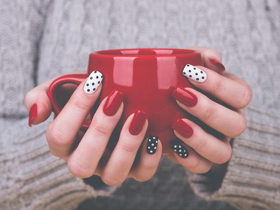 professional nails handen